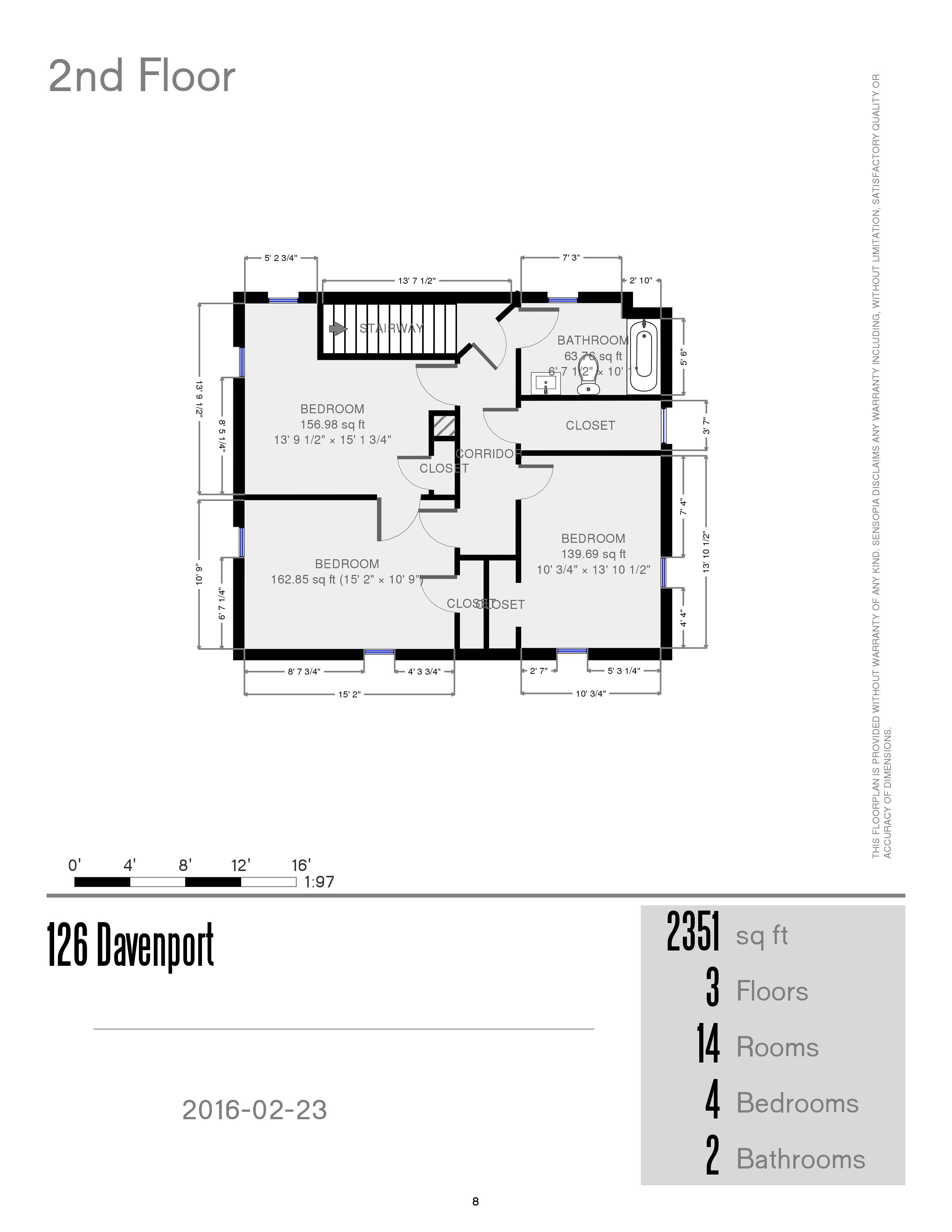 Prestige properties llc davenport street for 126 simcoe st floor plan