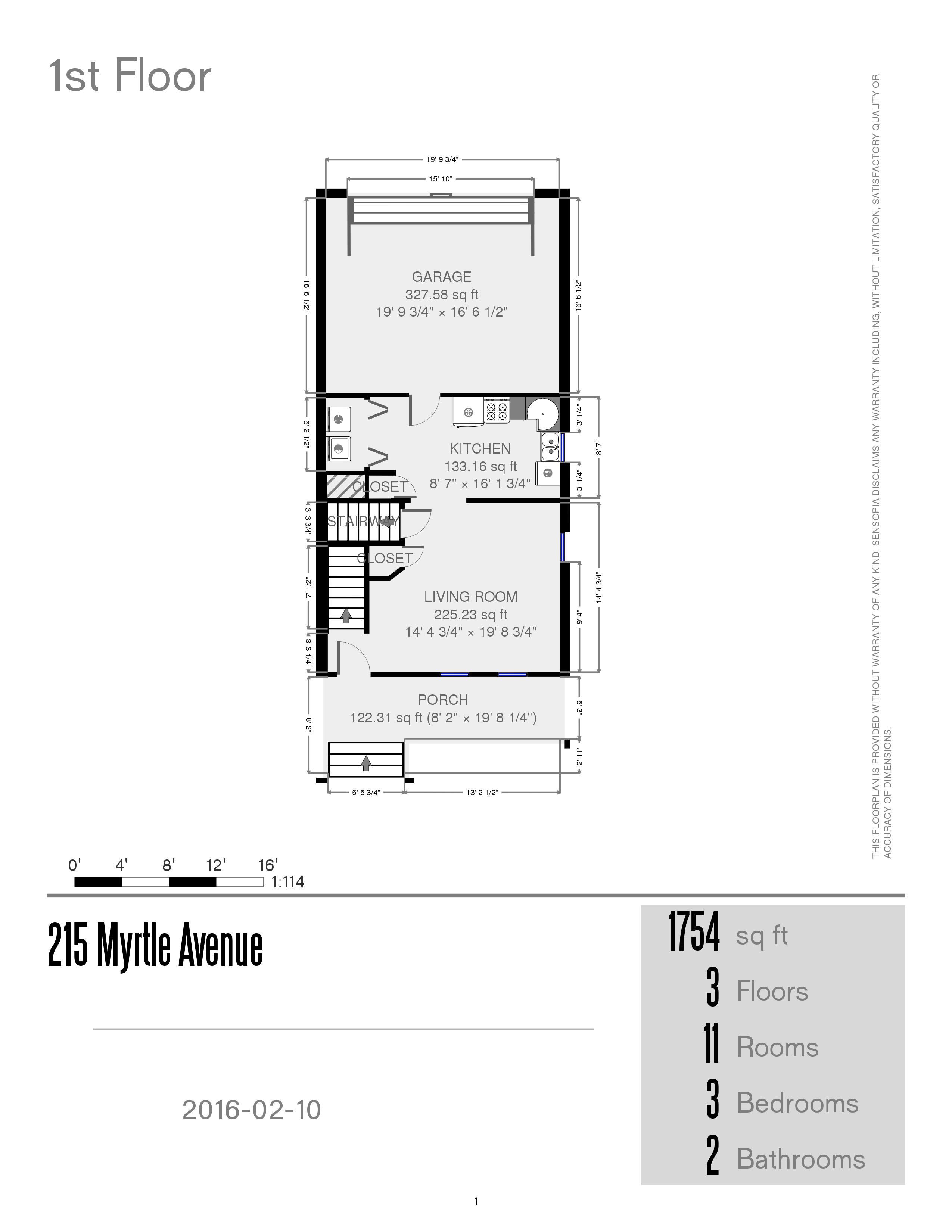 Prestige properties llc 215 myrtle ave duplex 3br 2ba for 3br 2ba floor plans