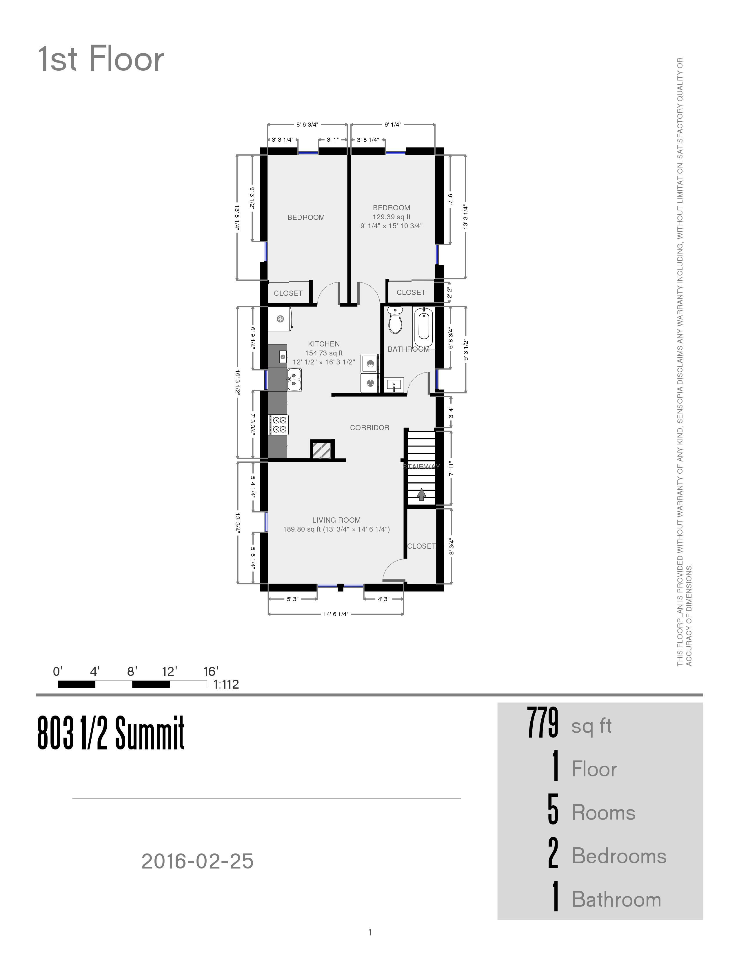 Prestige properties llc summit street for Main street homes floor plans