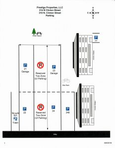 310 Parking Map update